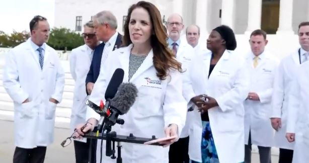 Dr. Simone Gold Fired