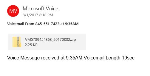 MS Voicemail